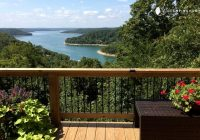 cabin with hot tub and views of beaver lake arkansas Beaver Lake Arkansas Cabins