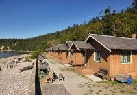 cama beach state park cabins whidbey and camano islands Camano Island State Park Cabins