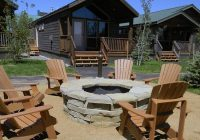 camp firepit picture of explorer cabins at yellowstone west Explorer Cabins At Yellowstone