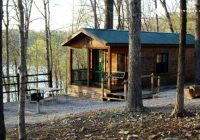 camping cabin in lake wappapello state park missouri Missouri State Park Cabins