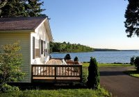 cottage rentals bar harbor maine lakeside cabin rentals donnel Cabins Near Acadia National Park