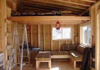 cozy building a small cabin with loft gallery log cabin plans Small Cabin Designs With Loft