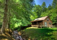 creekside cabins near bryson city and cherokee in smoky mountains of nc Cabins Near Bryson City Nc