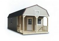 cumberland painted deluxe lofted barn cabins Cumberland Deluxe Lofted Barn Cabin