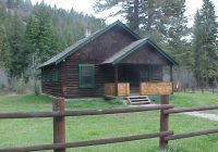 custer gallatin national forest big creek cabin Montana Forest Service Cabins