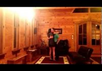 daniel proposing to samantha at blue creek cabins in helen ga Blue Creek Cabins Helen Ga