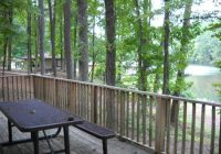 deck of our cabin picture of oak mountain state park pelham Oak Mountain State Park Cabins