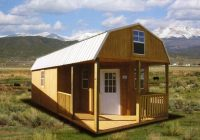 deluxe side lofted barn cabin portable art studio building Deluxe Lofted Barn Cabin Price