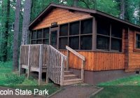 dnr family cabins fees reservations Clifty Falls State Park Cabins