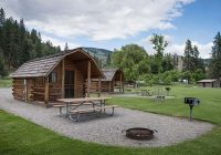dog friendly glamping yurts cabins and huts in washington Cape Disappointment Cabins