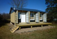 dropbox inc shipping container modifications for hunting cabins Shipping Container Hunting Cabin