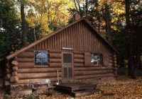 escape to a rustic cabin this weekend at one of these michigan parks Michigan State Parks Cabins