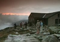 for backcountry hikers lodging stops below luxe the boston globe Dartmouth Outing Club Cabins