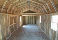 free lofted barn shed plans ollie 14×40 Side Lofted Barn Cabin Floor Plans