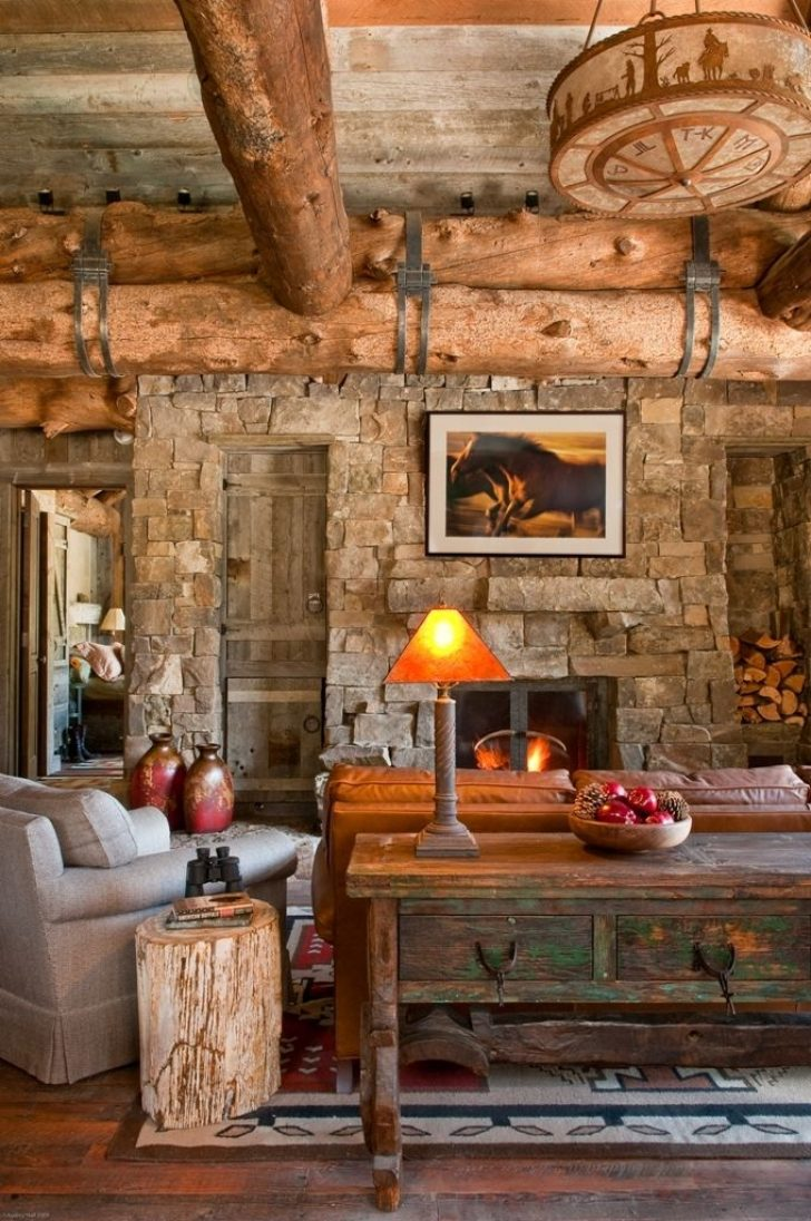 Permalink to Stunning Country Cabin Living Room Ideas Gallery