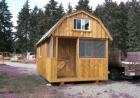 high resolution pole shed house plans ideas for the small barn Small Cabin Plans With Loft 10×20