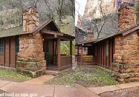 historic cabins being restored at zion national park st george news Cabins Near Zion National Park