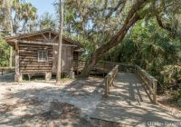 historic florida cabin boasts modern access upgrades Florida State Parks With Cabins