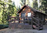 honeymoon cabin oficially this is cabin number 9 built in 1910 it Sequoia National Forest Cabins