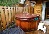 hot tub on blue spruce picture of fall river cabins estes park Cabins In Estes Park With Hot Tubs
