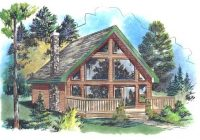 house plans with lofts page 1 at westhome planners Cabin Home Plans With Loft