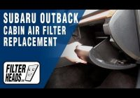 how to replace cabin air filter 2013 subaru outback youtube Subaru Outback Cabin Air Filter
