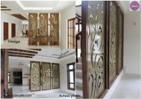 image result for wooden partition designs between living dining Partition Cabin Wallpapers Download