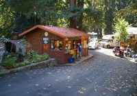 kiosk picture of big sur campground cabins big sur tripadvisor Big Sur Campgrounds And Cabins