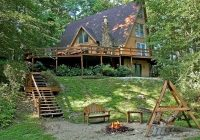 laguna house vacation rental home near the artists colony of Cabins In Brown County Indiana
