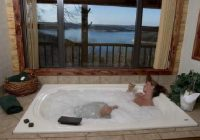 large jacuzzis in every cabin picture of lake shore cabins on Lake Shore Cabins On Beaver Lake