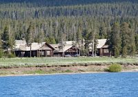 lodging in yellowstone national park hotels lodges reservations Cabins Yellowstone National Park