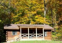 lodging locations map French Creek State Park Cabins