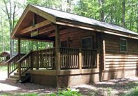lodging locations map Hickory Knob State Park Cabins