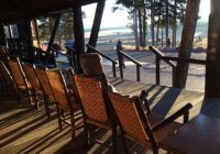 loved these rocking chairs picture of lake lodge cabins Yellowstone Lake Lodge Cabins