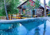 merrifield homestead cabins hot springs buena vista private Hot Springs Colorado Cabins