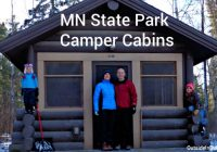 mn state park camper cabins a perfect winter retreat Minnesota State Park Cabins