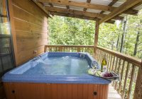 oak cabin hot springs log cabins nc Hot Springs Cabins With Hot Tubs