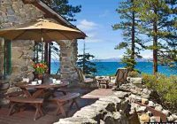 old tahoe cabin lakefront with more to offer jenny l johnson Lake Tahoe Cabins Lakefront