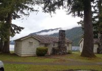 one of the roosevelt cabins picture of lake crescent lodge Cabins Olympic National Park