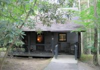 outside view of roan cabin picture of roan mountain state park Roan Mountain State Park Cabins