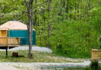 pa dcnr deluxe cottages and yurts Ohiopyle State Park Cabins