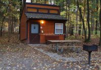 photo of sleeper state park michigan mini cabin in sleeper with Alabama State Parks Cabins