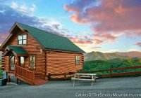 pigeon forge cabin smokys awesome view 1 bedroom sleeps 10 Awesome View Cabin Gatlinburg