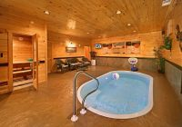 private pigeon forge area cabin with indoor pool Cabins With Private Indoor Pools