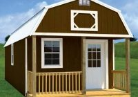 rent to own storage buildings sheds garages cabins Lofted Barn Cabin For Sale