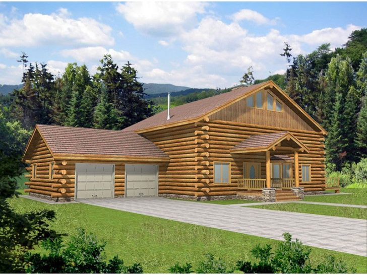 Permalink to Gorgeous Two Story Log Cabin Layouts Inspirations