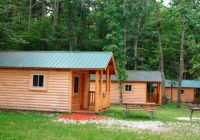 rustic cabins picture of white river rv park campground Campgrounds In Michigan With Cabins
