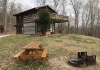 rustic log cabin next to the hoosier national forest in the ohio Hoosier National Forest Cabins