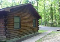 side view of cabin 15 picture of pymatuning state park jamestown Pennsylvania State Park Cabins