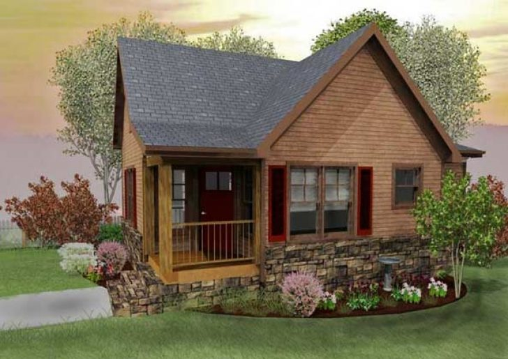 Permalink to Cozy Mountain Cabin Plans With Loft Gallery
